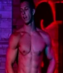 Hot body male stripper