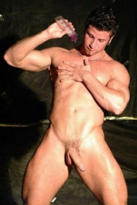 male stripper hunk