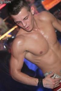 photos from Italian male strip club