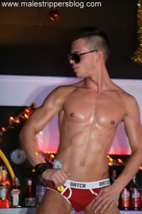 Stunning male stripper boy