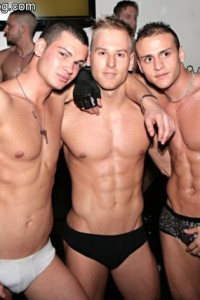 male strippers of Italian club