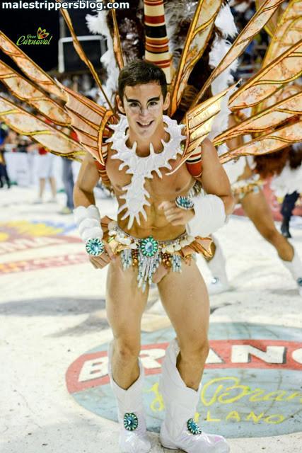 beautiful carnival boy