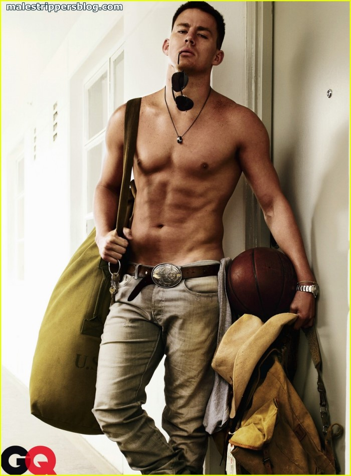 best erotic image of Channing Tatum