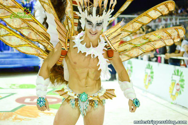 charming carnival boy naked