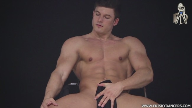 sexy male stripper