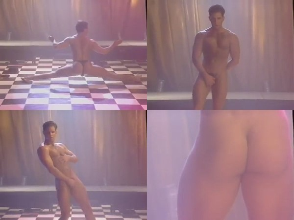 guy dancing naked