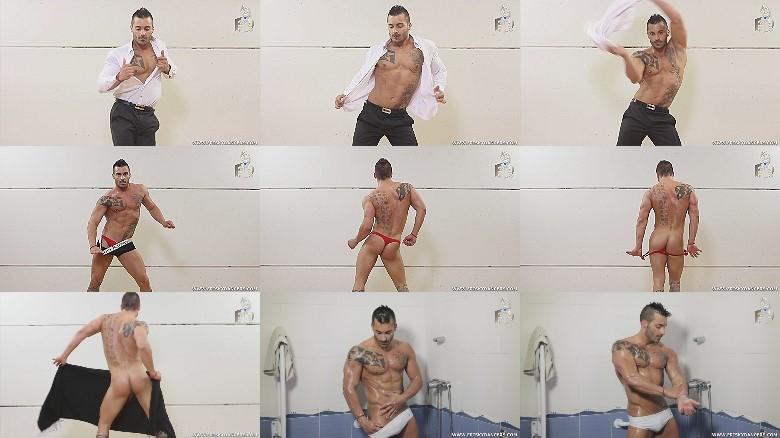 muscle Spanish male stripper
