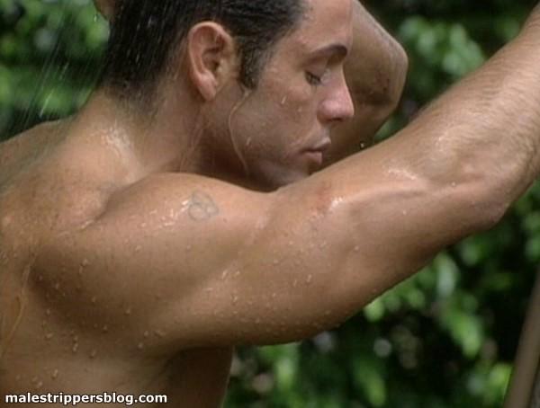 beautiful man showering male erotica