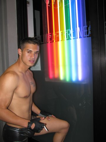 charming gay stripper