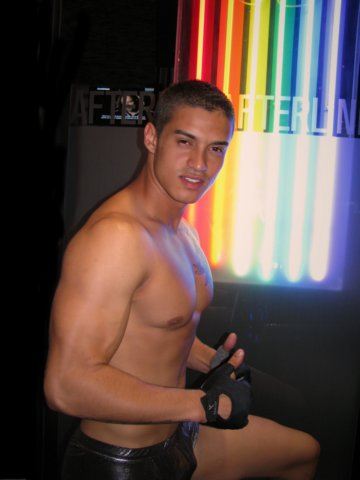 gay club dancer