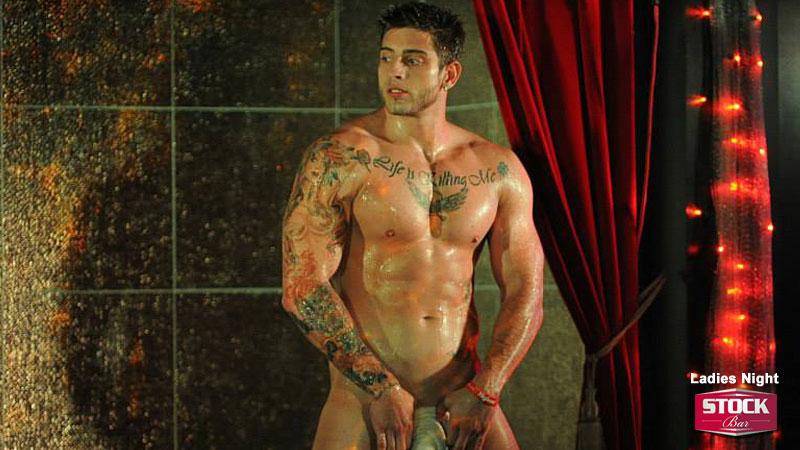 hot hunky gay stripper