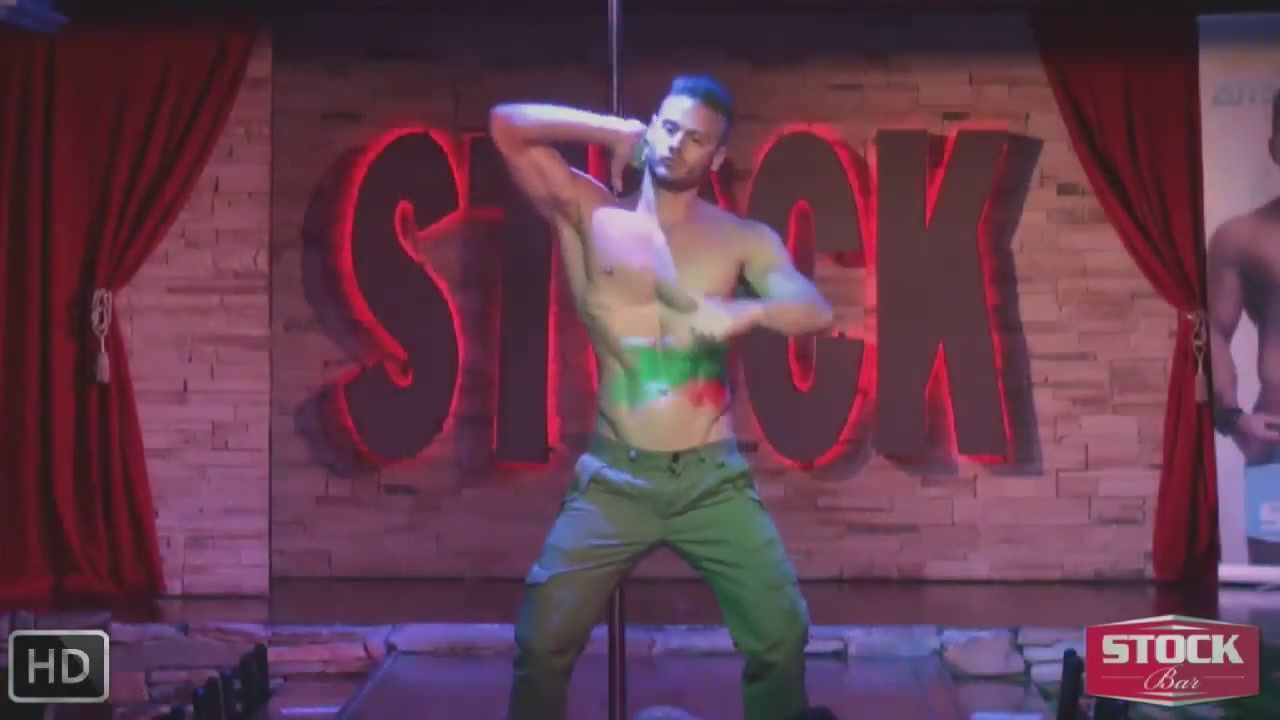 sexy gay dancer