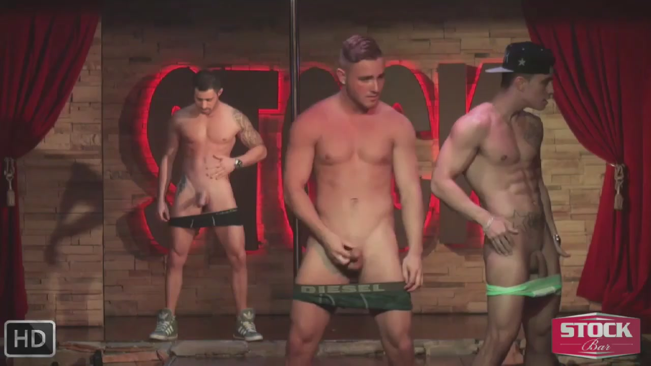 Male stripper video nude