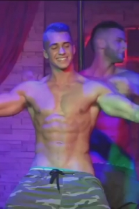 young male stripper