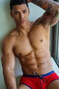 Charming stripper