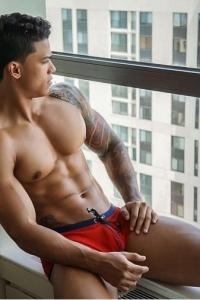 bodybuilder and fitness model