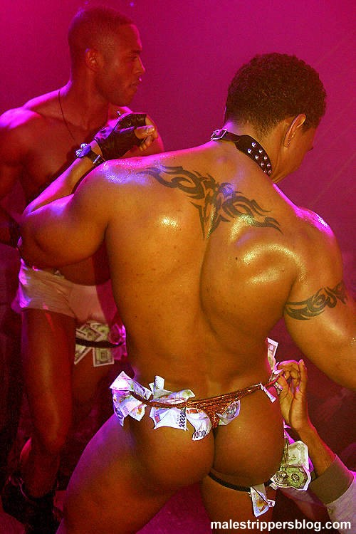 black male strippers bare ass