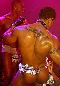 black men striptease