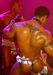black men striptease