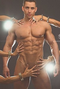 naked stripper hunk