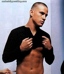 Channing's waist measuring