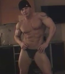 Russian male stripper