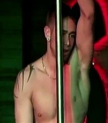 Male stripper Noah