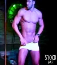 Muscle male dancer Randy