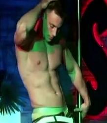 Nude male dancer Steven